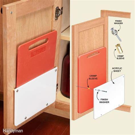 inside kitchen cabinet door storage 230 best home kitchen remodel hacks cabinets pots