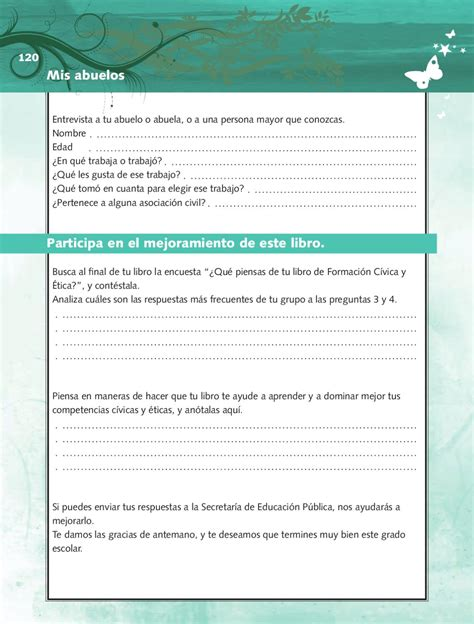 libro de civica y etica contestado 6 grado 2015 2016 sep formaci 243 n civica y etica 4to grado by rar 225 muri issuu