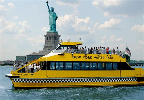 boat transport nyc les waters taxis de new york