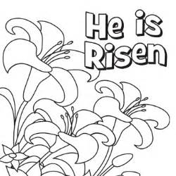 he is risen coloring page n coloring pages easter cooloring