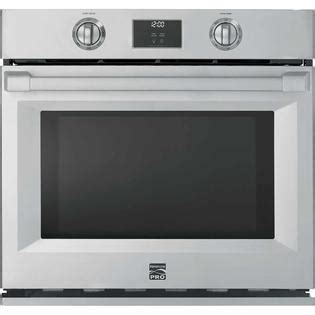 kenmore pro 41153 30 quot electric self clean single wall oven stainless steel appliances wall