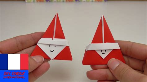 Origami St - origami en forme de st nicolas pliage pour le mois de