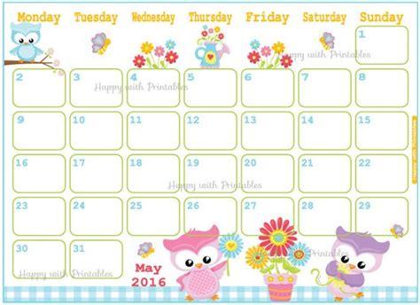 printable calendar 2016 flowers calendar may 2016 printable may flowers planner cute