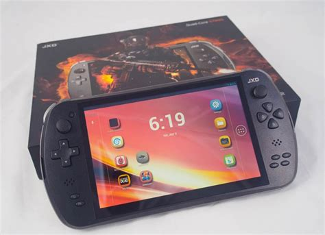 android portable console retro gaming with the jxd s7800b android powered portable