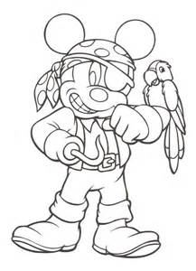 pirates caribbean mickey mouse disney coloring pages disney coloring