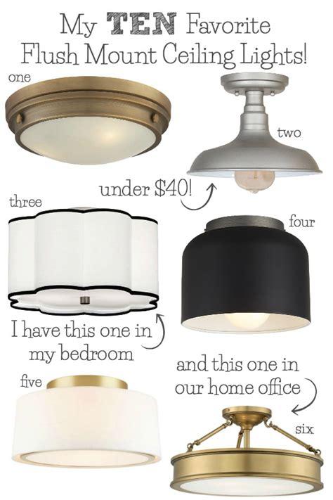 flush mount lighting   favorites driven  decor