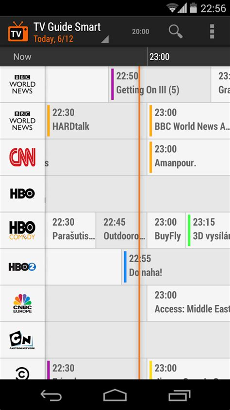 tv guide for android tv guide smart android apps on play
