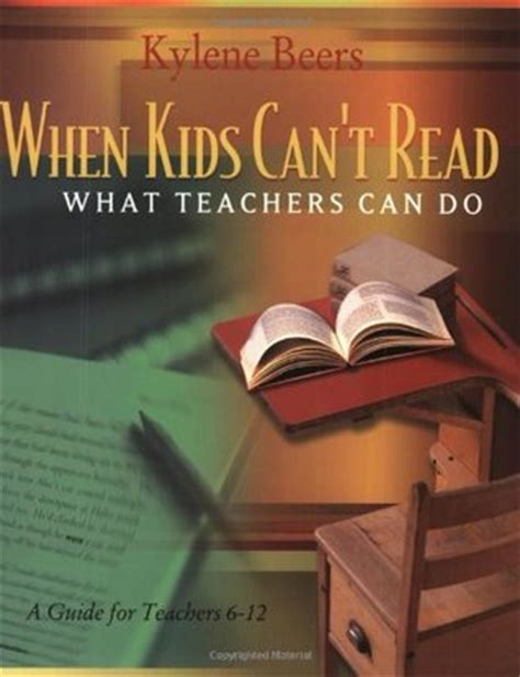 when can t read what teachers can do a guide for
