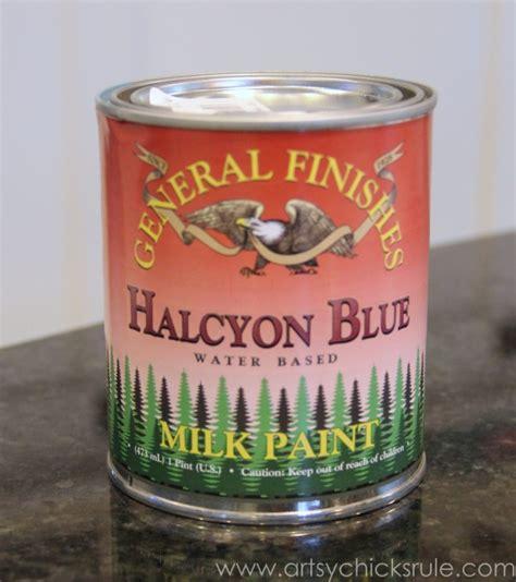 chalk paint vs general finishes milk paint grain sack side table chalk paint 174 general finishes