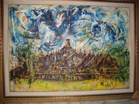 Lukisan Afandi noenk cahaya lukisan karya affandi
