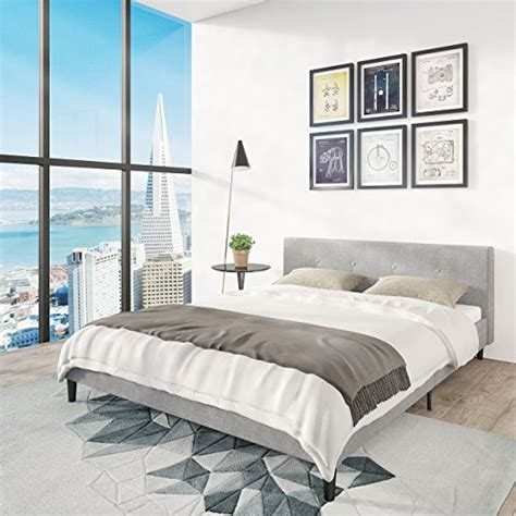 bedroom furniture san francisco san francisco bed frame upholstered low profile headboard pl