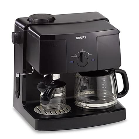 Krups Model XP1500 Espresso Machine and Coffee Maker   Bed Bath & Beyond