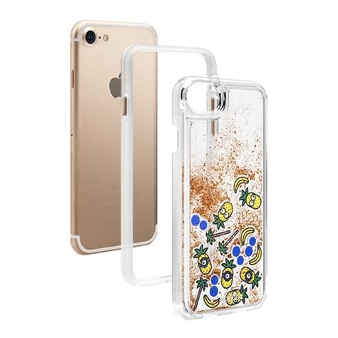 Casing Hp Iphone 7 Minions Custom Hardcase Cover casetify x minions iphone glitter casetify