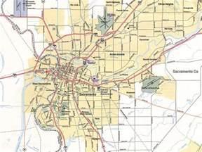 sacramento map free printable maps