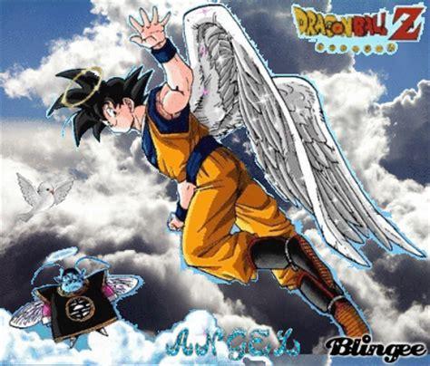 imagenes de goku angel goku angel picture 64348448 blingee com
