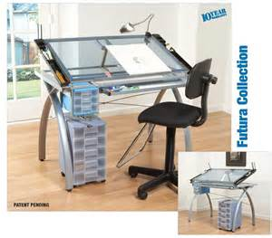 Drawing Desk Uk Studio Design Glass Top Vision Drawing Table Combo Ebay