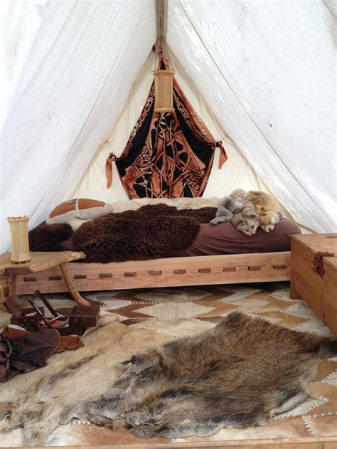 viking home decor viking tent interior viking encment pinterest