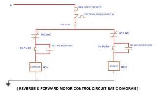 forward motor wiring circuit with diagram
