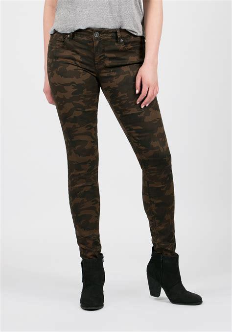 camo pattern skinny jeans ladies camo skinny pants
