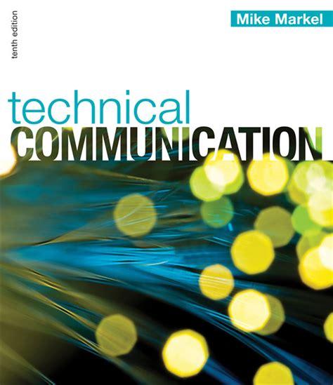 technical communication macmillan higher education technical communication tenth