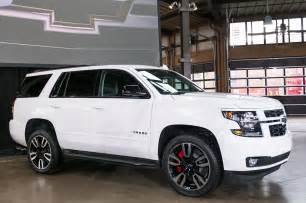 2018 chevrolet tahoe and suburban rst look
