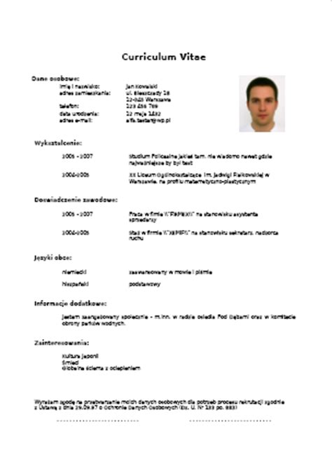 Example Of Covering Letter For Resume by Pup Lubliniec