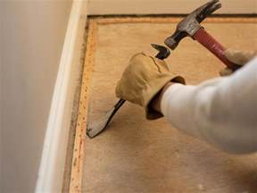 How To Out Carpet How To Remove Wall To Wall Carpet Hgtv