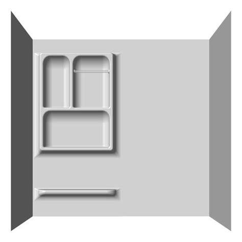 Bathroom Drywall Menards Lyons Versatile Sectional Bathtub Wall Kit At Menards 174