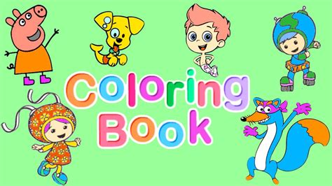 team umizoomi umizoomi games videos coloring pages nick jr nick jr coloring book pt 2 bubble guppies team