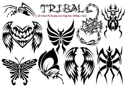 tribal pattern brush photoshop tribal ps brushes vol 4 free photoshop brushes at brusheezy