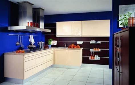 cuisine en bleu couleur peinture cuisine 66 id 233 es fantastiques