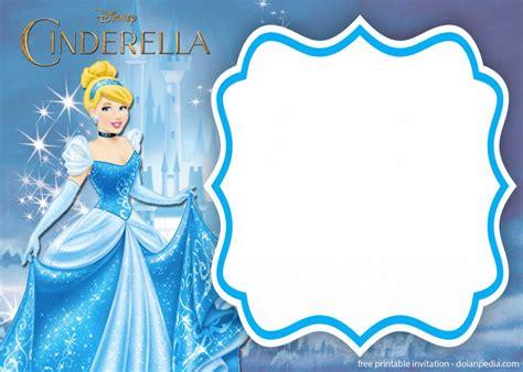 printable cinderella royal invitation templates dolanpedia invitations template