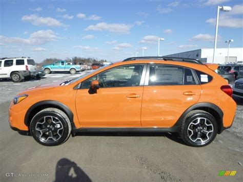 subaru orange crosstrek when is subaru 2015 crosstrek available autos post