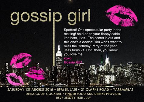 gossip girl themes party gossip girl inspired gold glitter nyc birthday party