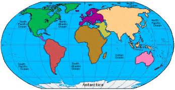 Map Of The World Continents by World Maps With Continents