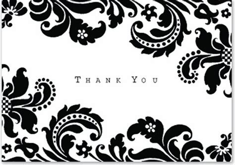 black and white thank you card template thank you card template free printable black and white