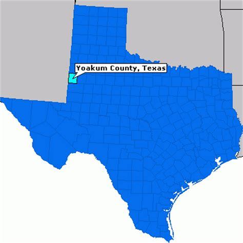yoakum texas map yoakum county texas county information epodunk