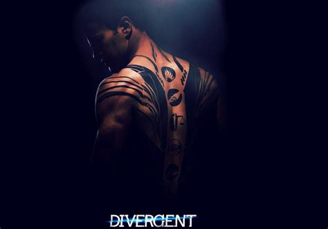 theo james divergent tattoo divergent 2014 four theo