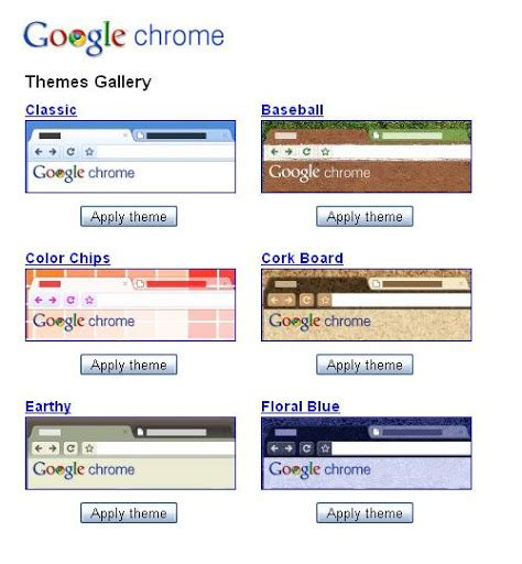 google themes gallery breeze google chrome themes gallery