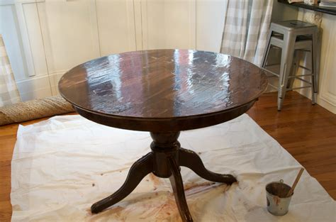 how to refinish a table how to refinish a table