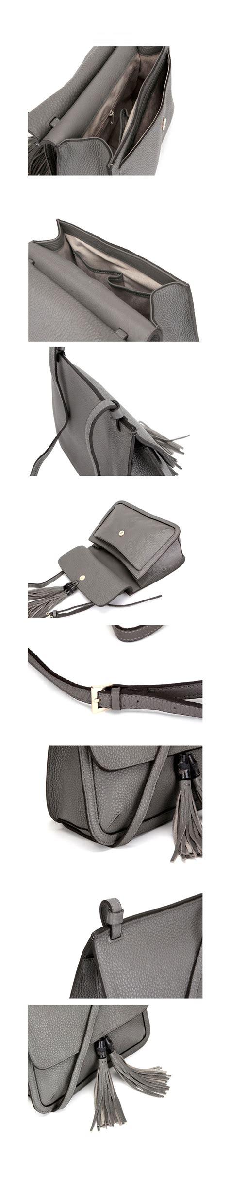 Yd 00 213 Original Import Bag Just new leather handbag shoulder bag brown black hobo