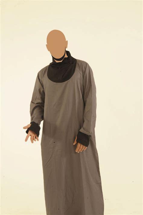 Jilbab Saudia Segi4 Polos grey and black navigator jubba 163 39 99