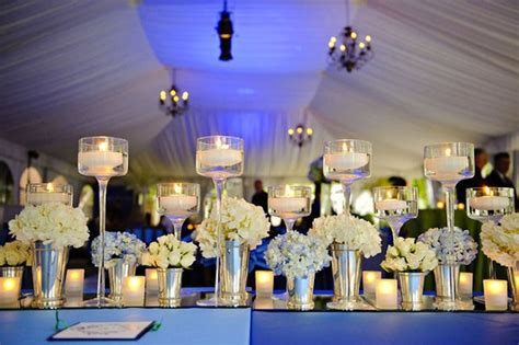 wedding tablescape using mirrors