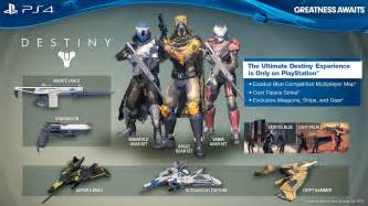 Exclusive destiny content looks like destiny for ps4 news