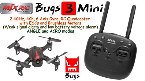 bug host axis terbaru 2018 mjx bugs 3 mini 2 4ghz 4ch 6 axis rc quadcopter with