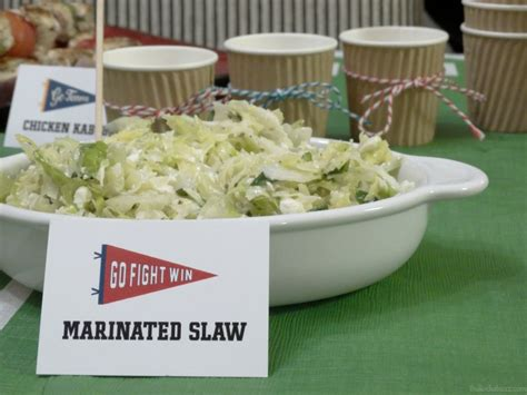 Marinated Slaw Zoes Kitchen kick your big celebration with zo 235 s kitchen
