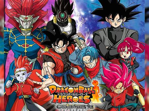 anime dragon ball heroes trailer episodios de dragon ball heroes dragon ball heroes online