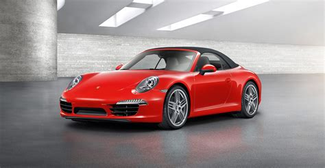 2012 Red Porsche 911 Carrera Cabriolet Wallpapers