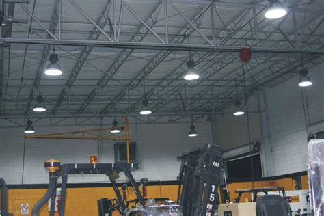 low bay led shop lights econolight induction high bay dxg lighting revolution