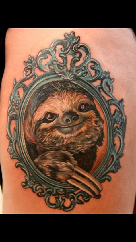 tatu baby tattoos sloth done by tatu baby tattoos by tatu baby